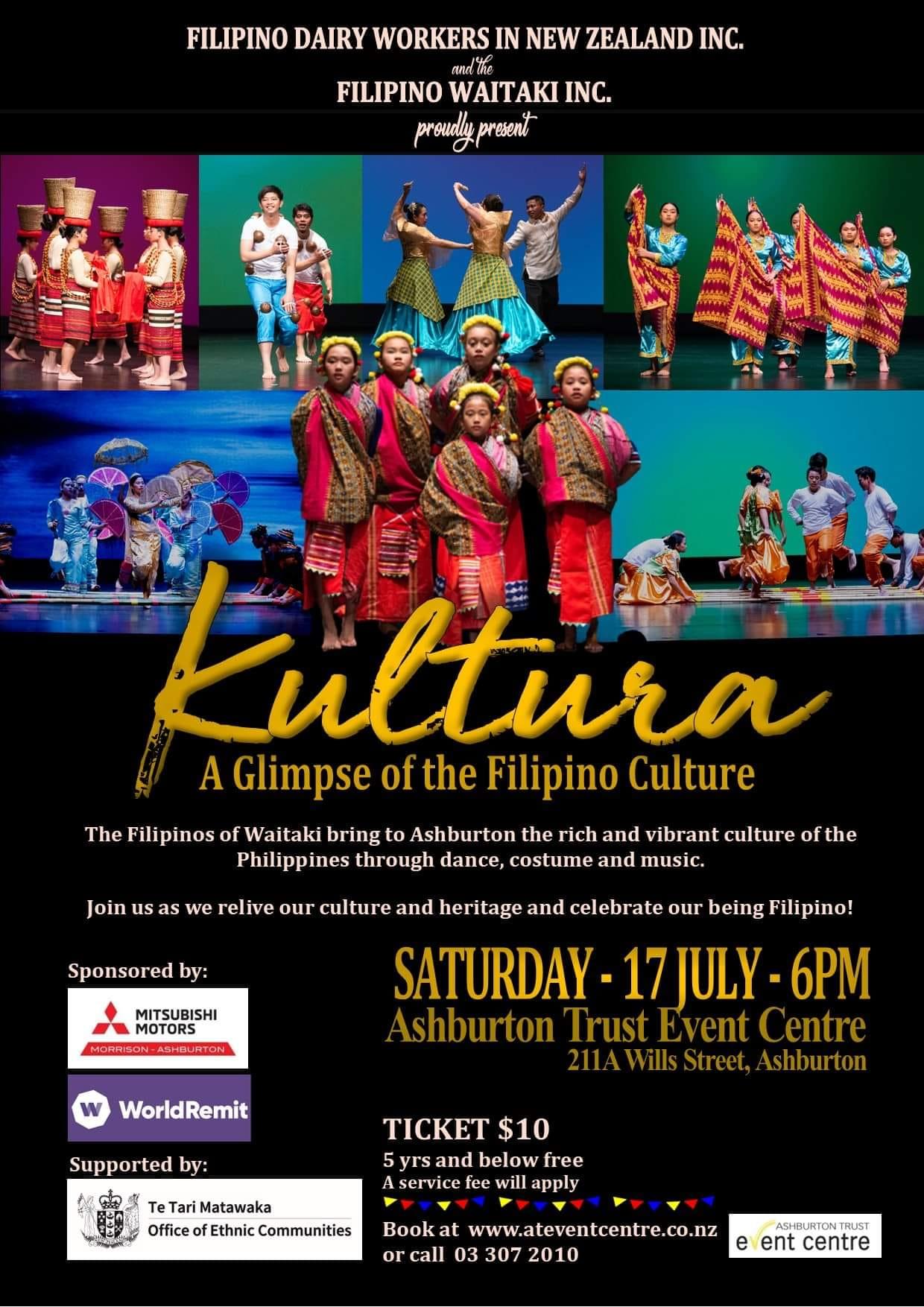 Kultura - A Glimpse of the Filipino Culture